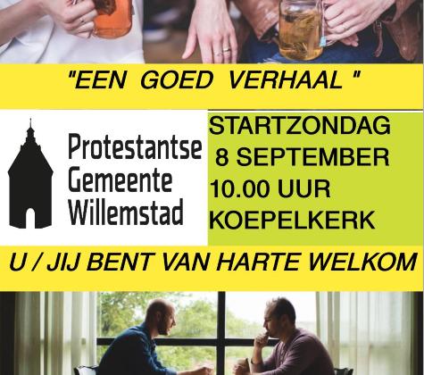 """Startdienst 8 September """"Koepelkerk"""""""